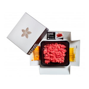 Buga Restobar - Steak Tartar Marinado La Finca