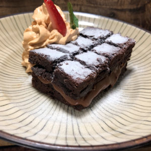 Take Away Buga Restobar - Brownie de Chocolate y Dulce de Leche